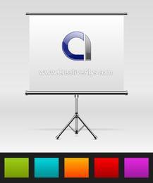 Beautiful Metallic Presentation Board Showcase