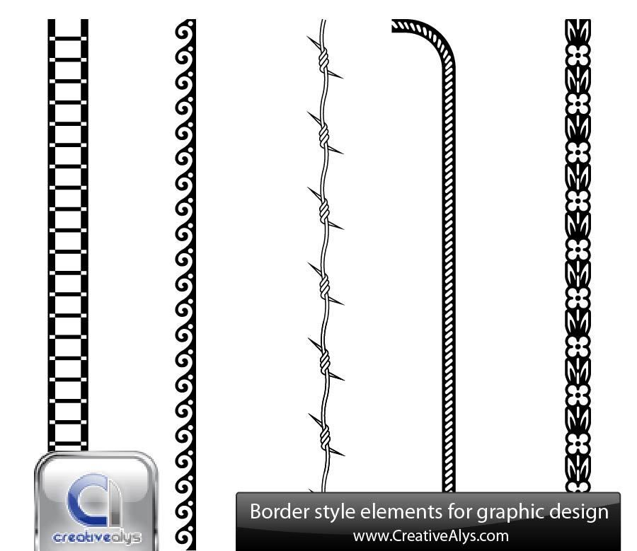 Barbed wire Vector Graphics to download