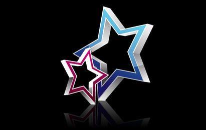 Estrela do vetor