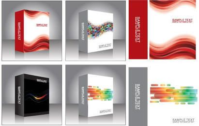 Free Vector Software Product Box Templates