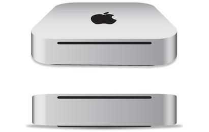 Apple Mac mini 2011 vector