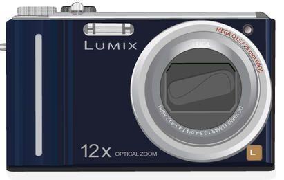Lumix Camera Vector Design