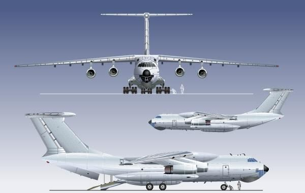 CARGO AND PASSANGER AIRPLANE VECTOR