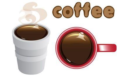 Café em isopor Copa e caneca