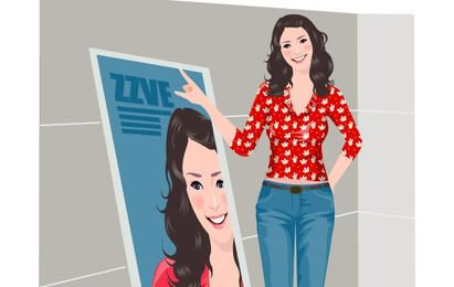 Girl Lifestyle Vector Set 2.