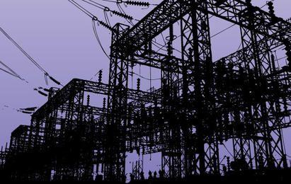Usina de energia elétrica