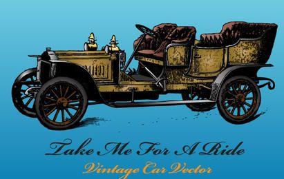 Vetor de carro antigo