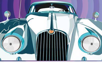 Ilustração de limusine de luxo
