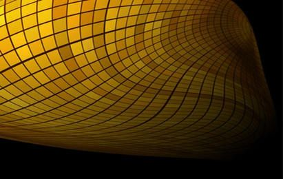 Fondo de azulejos con curvas