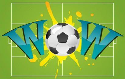 Wow mit Fußball