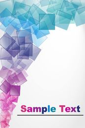 Abstract Vector Background With Blocks