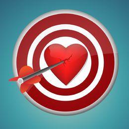 Rompiendo el corazon con el dardo