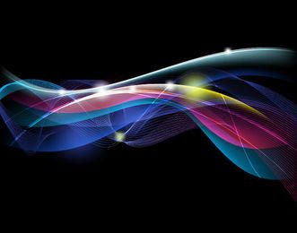 Linhas de fluxo de energia e curvas de fundo