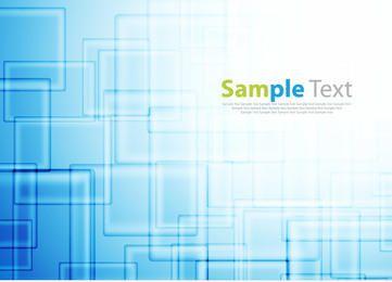 Blauer Hightech-glänzender Quadrat-Hintergrund