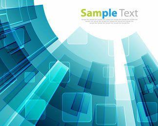 Abstrakter Leuchtstofftechnologie-Quadrat-Hintergrund