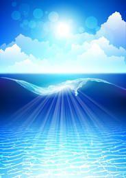 Bigger Sea Wave & Brillante Cielo