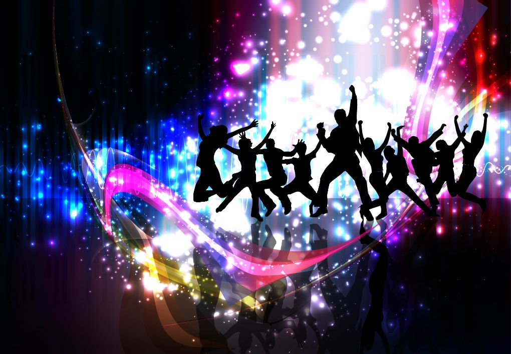 Colorful Party Night Celebration Background - Vector download