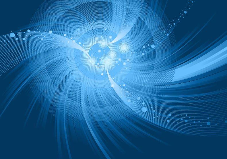 Blue Spirals Wallpapers: Blue Spiral Vortex Swirls Background