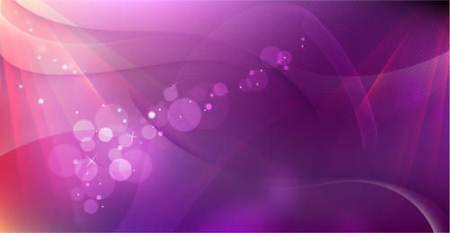 Pink Abstract Curves & Spiral Lines Background