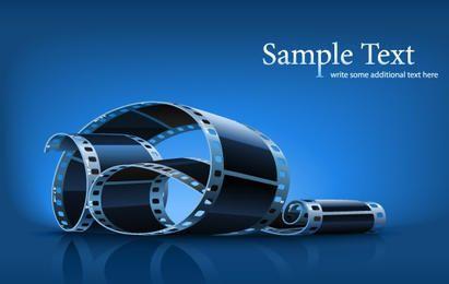 Twisted Film Strip - Imagenes Vectores