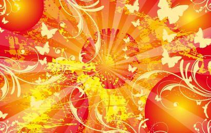 Foto de fondo de cartel de vida soleado