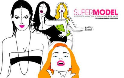 Supermodel Vector Pack