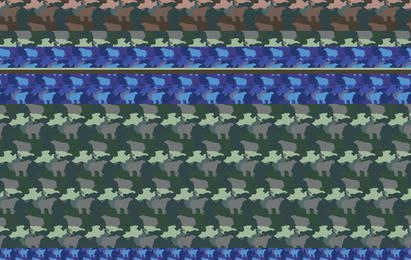 Free Illustrator Patterns - Camouflage