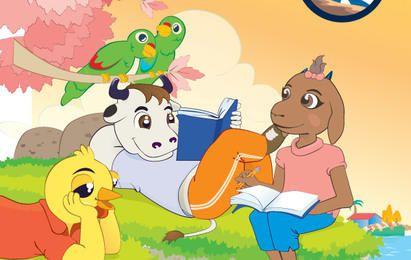 Animals Reading Books