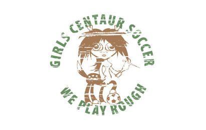 Diseño de camiseta de fútbol centauro
