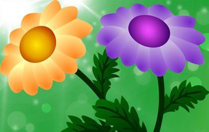 Kostenlose Vector Chrysantheme