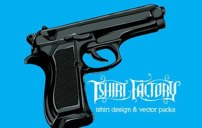 Free Vector Gun illustration