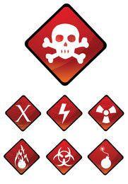 Aviso, sinal, ícones