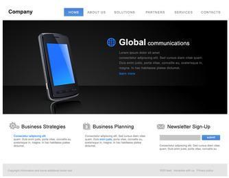 Classic Style Corporate Website Template