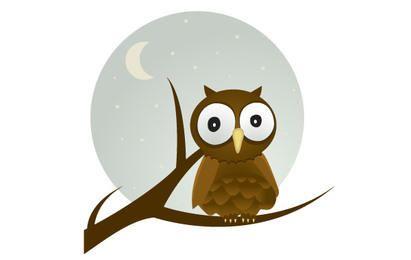 Owl gratis Vector