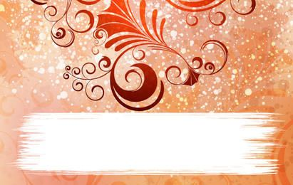 Ornamented Vector Background