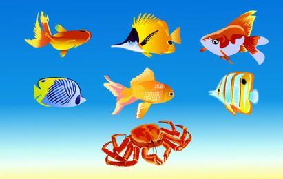Peixe De Vetor