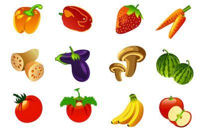 Frutas vetor livre