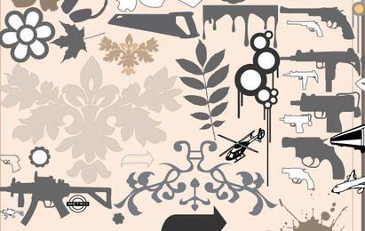 Livre, bonito e perigoso Design Icons