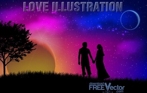 Vector Love Illustration