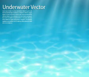 Fondo submarino azul realista