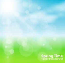 Frühlingssonne-Natur-Hintergrund
