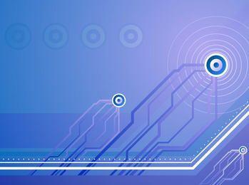 Fondo abstracto azul futurista tecnología