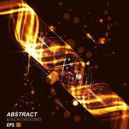 Glänzender Energie-Spiralen-Hintergrund