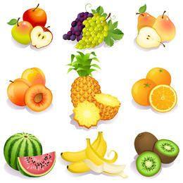 Frutas frescas Pacote Testy