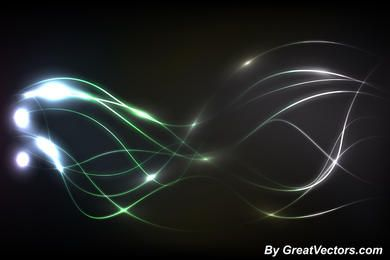Energy Flow Abstract Lines Background