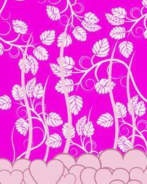 Heart and petals