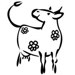 Milky cow