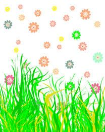 Easter nature background