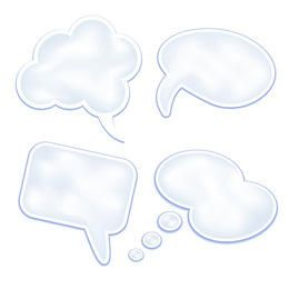 Stylish and Clean Speech Clouds