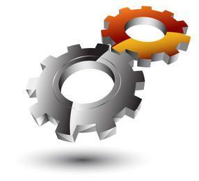 Free Vector Logo - Gear